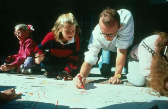Photo Friday: Keith Haring, Elementary School Art Teacher