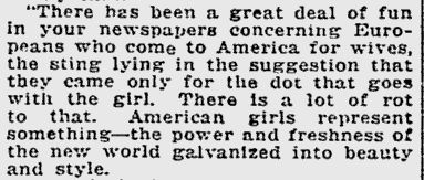 Pittsburgh Press, 15 August 1915.