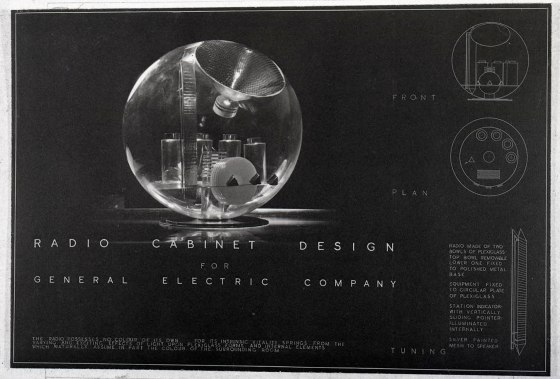 """Entry for """"Design of Radio Cabinets"""" competition."""