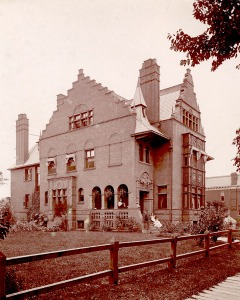 Booth Family Home, 605 Trumbull Avenue, 1898