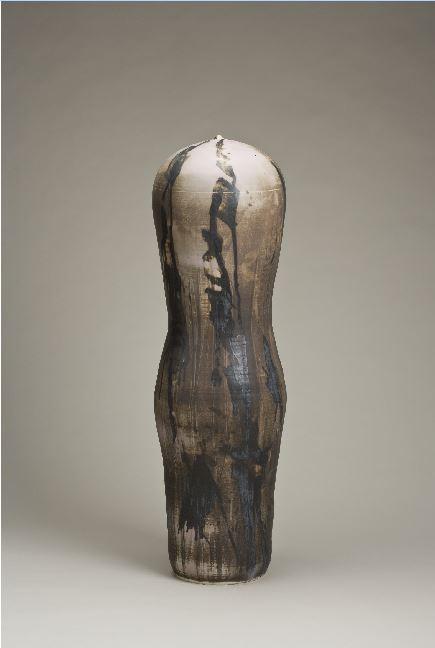 Toshiko Takaezu, Torso, 1990-1999.  Cranbrook Art Museum.