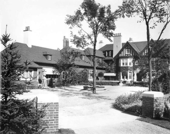 Cranbrook House, 1925.  Cranbrook Archives.