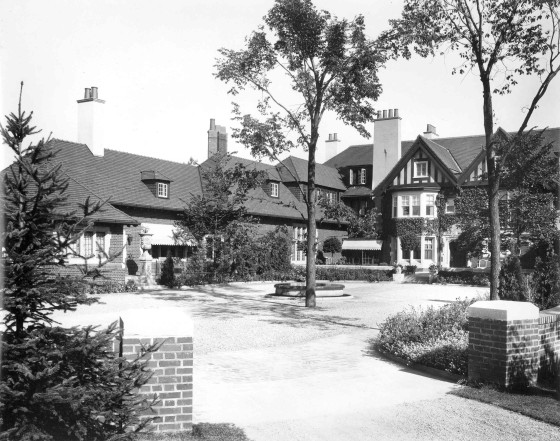 Cranbrook House, 1925.  Cranbrook Archives.