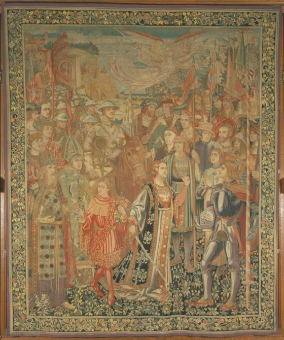 Herter Looms, The Great Crusade, 1920.  Cranbrook Art Museum.