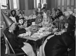 Halloween at Brookside.  Cranbrook Archives, 1935.