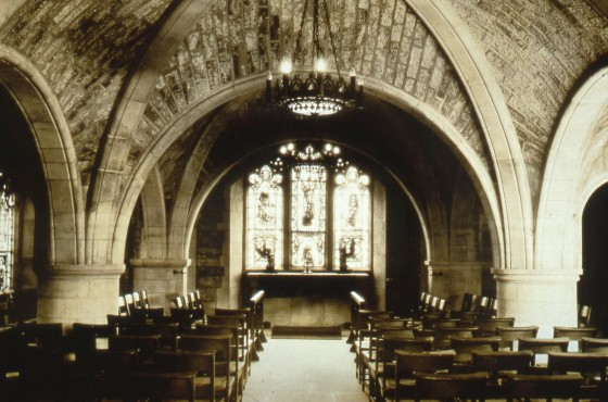 St. Dunstan's Chapel, Christ Church Cranbrook. Cranbrook Archives.