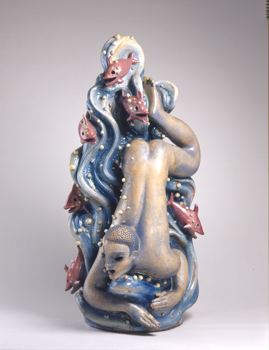 Waylande Gregory, Water from Fountain of the Atom, 1938.  Cranbrook Art Museum, gift of Patricia Shaw.