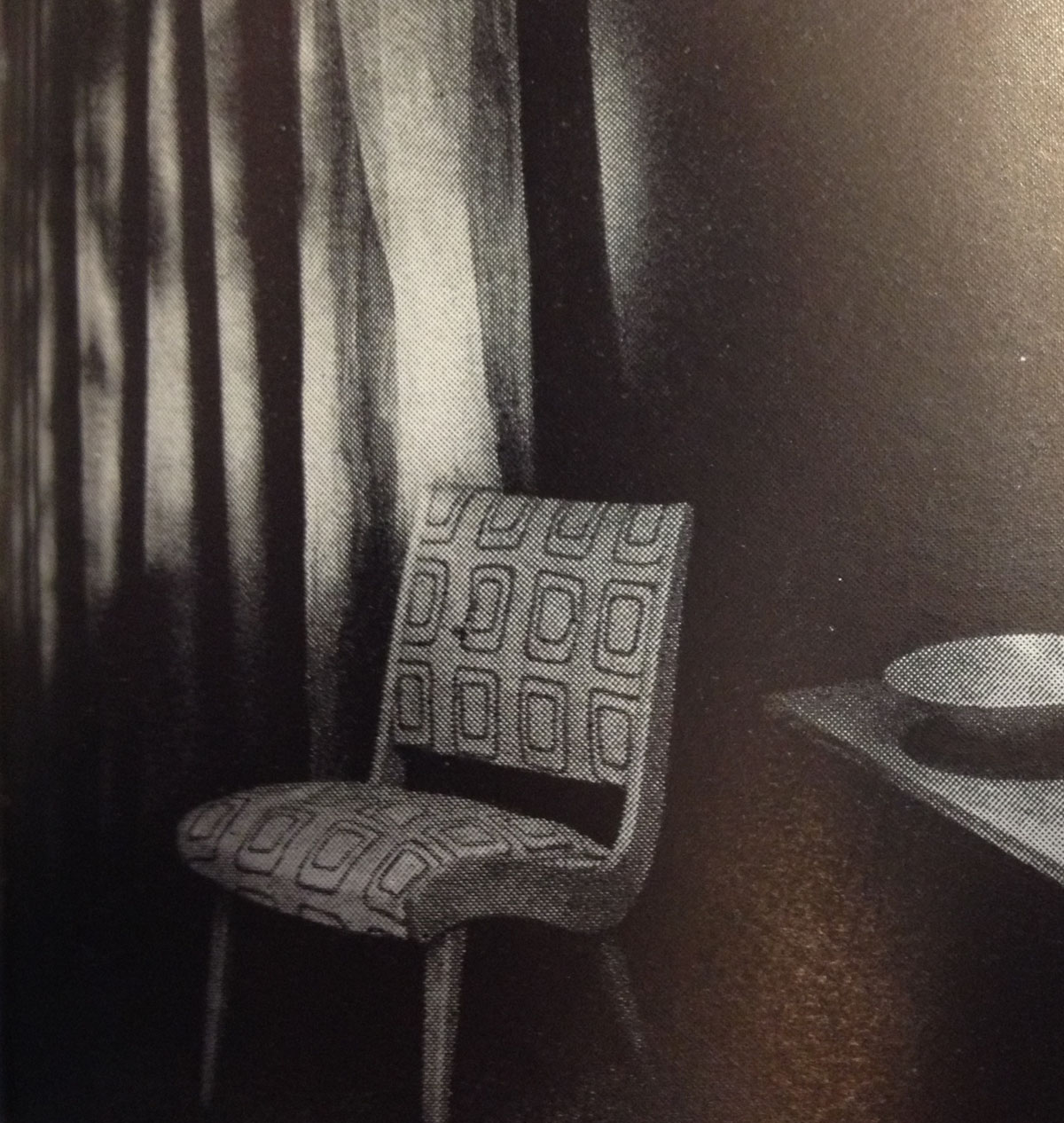 """""""Furniture by H.G. Knoll & Associates,"""" Arts & Architecture, September 1947, p. 24. Cranbrook Academy of Art Library."""