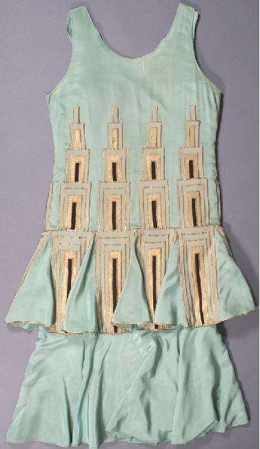 Pipsan Saarinen Swanson, dress, circa 1933-1935. CAM 1986.44. Cranbrook Art Museum.