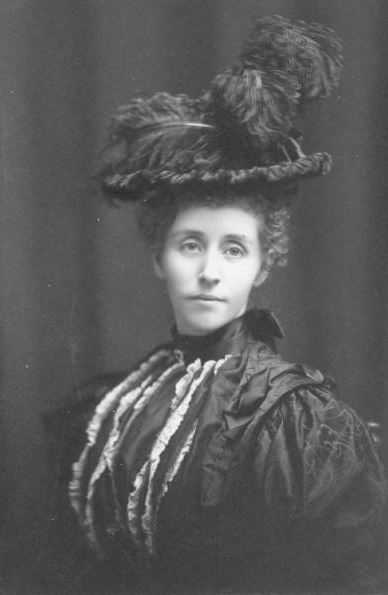Ellen Scripps Booth, 1897. Cranbrook Archives.