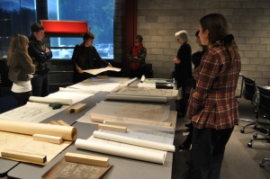 Archives workshop at Cranbrook Center for Collections and Research