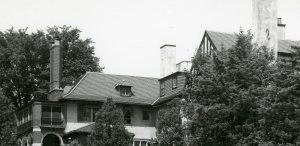 The dormers at Cranbrook House. Cranbrook Archives.