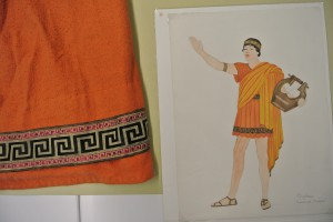 The Costume for Orpheus is part of Cranbrook's Cultural Properties collection.