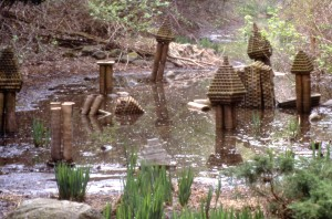 Clay Temples Installation, Graduate Degree Show, 2002