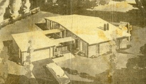 Zonar's rendering of the 1956 Idea Home