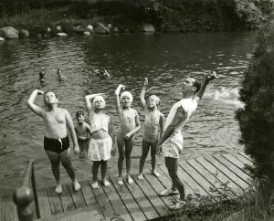 Swimming lessons Summer Institute