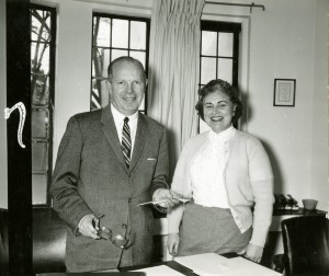 Arthur Witleff and Corajoyce Rauss, Jan 1962.