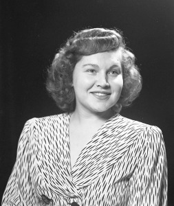 Corajoyce Rauss, Nov 1947.