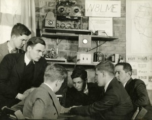 Cranbrook School Radio Club, 1935. Photographer, Richard G. Askew.