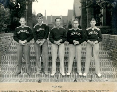 Golf team 1935-36.