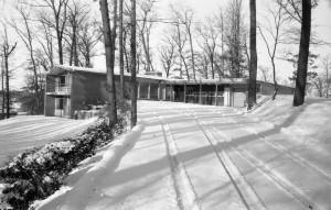 Kingswood School Headmistress residence, 1955.