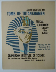 Exhibition poster, 1973.
