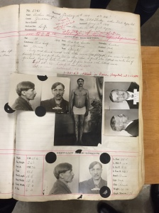 """The Archives of Michigan is responsible for preserving the records of Michigan government and other public institutions. One example is the prison record of the notorious """"Gypsy Bob."""""""