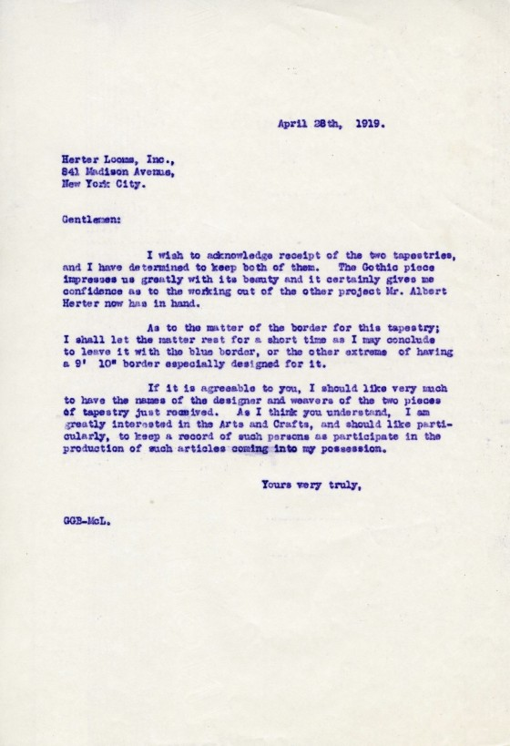 Booth Letter