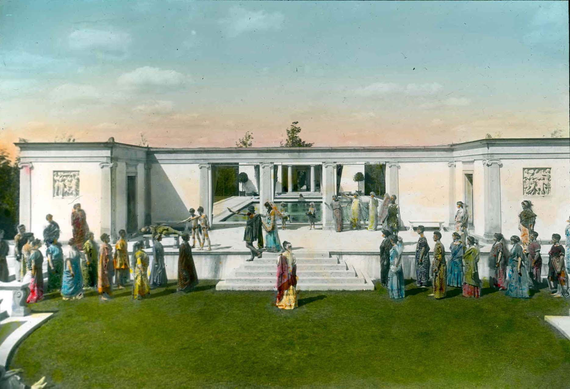 Greek Theater masque, 1916