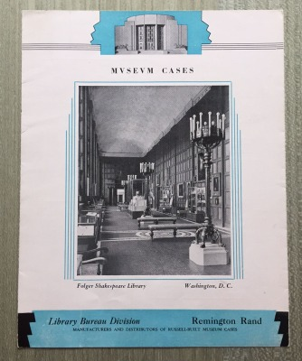 Russell-Built Museum Cases literature, ca 1939.