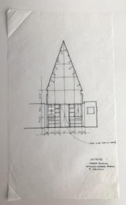 Sketch of Scheme 1: interior paneling.
