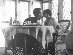 """Henry Booth and Carolyn Farr, titled, """"'The End' (note the string) 1924,"""" Pleasures of Life (POL 7.78.3)"""