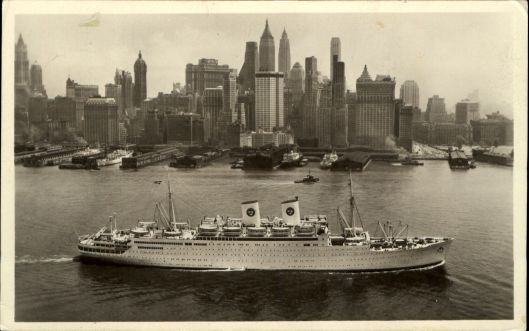 MS Gripsholm 1951 mailed