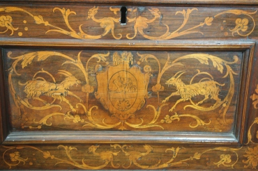 Details of cassone chest by an unknown Italian maker (CAM 1929.74)