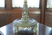 Detail of Edward F. Caldwell & Company table lamp (CEC 234)