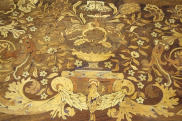 Detail of writing table top (CEC 338)