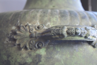 Detail from circa 1926 Reproduction Pompeian Hydria (Jug) (CIS 10368)