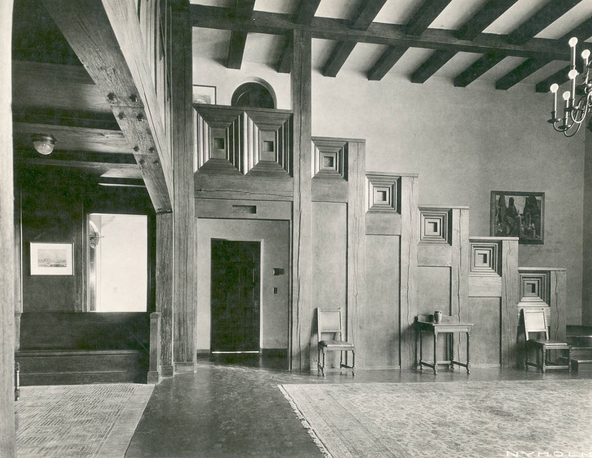 North Lobby with Taos Painting