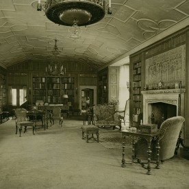 Library circa 1925. Courtesy of Cranbrook Archives.