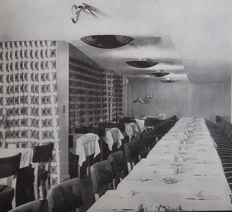 Main Restaurant Hall 1947