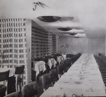 Main Restaurant Hall 1947