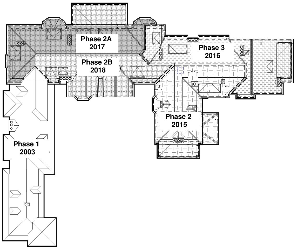 Cranbrook House Roof Schedule