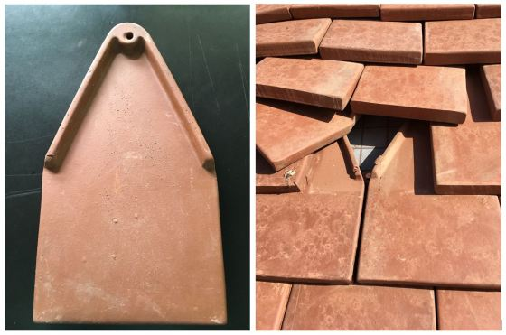 Cranbrook House Roof Tile pictures