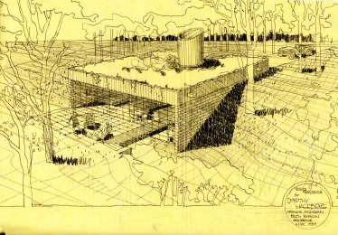 Design for the Hageberg house, 1939.