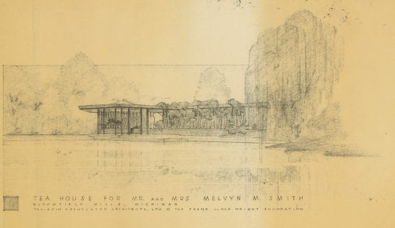 Smith House Tea House by William Wesley Peters July 1965