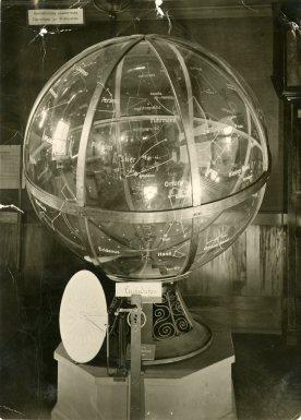 View of the Copernican Planetarium, June 1961 Copyright Cranbrook Archives, Photographer: Harvey Croze