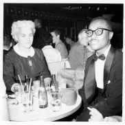 Carolyn Farr Booth and Don Shirley, Baker's Key Board Lounge, June 1956.