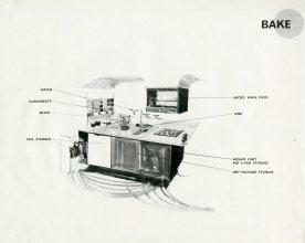 Kitchen designs, ca 1955-1958. Courtesy Cranbrook Archives.