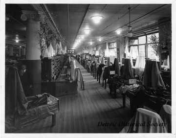 Hudsons detroit fabric shop