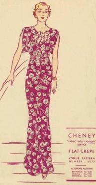 Vogue Dress for Lynettes blog